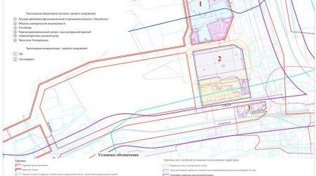 Проект планировки и межевания территории  в районе  четвертого  автодорожного моста  через р. Енисей в г. Красноярске